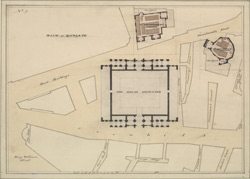 [Plan of the Royal Exchange as it appeared before the fire. 1835]